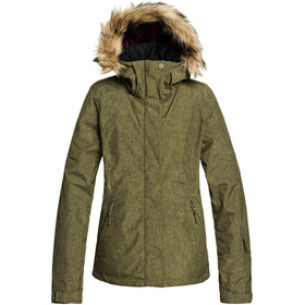 Roxy Jet Ski Solid Jacket Women ivy green